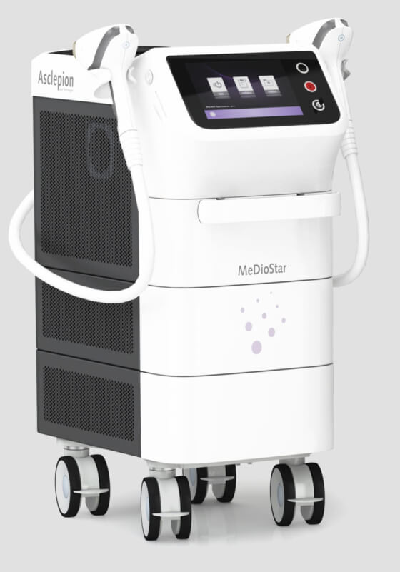 Диодный лазер для эпиляции Mediostar