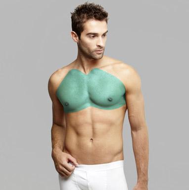 мужская лазерная эпиляция груди
