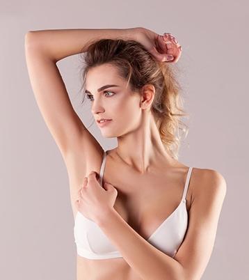 удаление волос лазером с подмышек